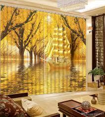 Schlafzimmer Vorhã Nge Großhandel Vorhänge Herbst Boot Schlafzimmer Fenster Vorhänge Blackou Vorhang Fenster Vorhang Wohnzimmer Küche Dekoration Yiwu2017 168 36 Auf