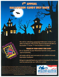 Operation Gratitude Halloween Candy Buy Back by Office Events North Dartmouth Ma Baarsvik Orthodontics