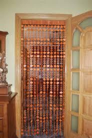 charming wooden door beaded curtain photos best inspiration home