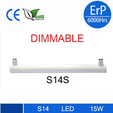 dimmable led linestra s14d s14s led light 3w 6w 10w 15w 300mm