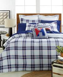 CLOSEOUT Tommy Hilfiger Surf Plaid Bedding Collection Bedding