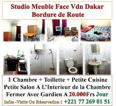 chambre meuble a louer a louer meuble chambre studio appartement villa apartir de 15mille jour