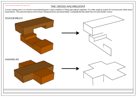halving joints bridle joints mortise and tenon joints