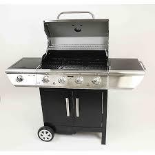 cuisine barbecue gaz barbecue gaz arizona premium 4 brûleurs maison et loisirs e leclerc