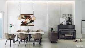Contemporary Dining Room Interior Design Ideas Modern Rooms