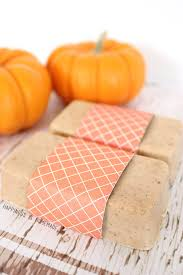 Minecraft Pumpkin Pie Banner by 10 Minute Diy Pumpkin Spice Soap Happiness Is Homemade
