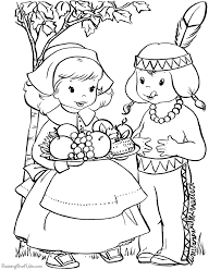 Download Happy Thanksgiving Coloring Pages Print