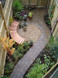 Small Backyard Decorating Ideas by Nice Gardens For Small Backyards Before Long And Narrow Garden