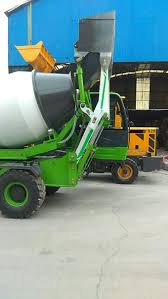 100 Concrete Truck Capacity 4 Cubic Meters Mixer Water Tank 660L