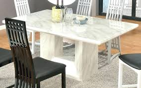Round Marble Dining Table Set Designs