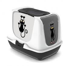 maison de toilette chat en promotion mistigri animaloo