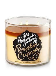 Pumpkin Waffle Candle by Pumpkin Cupcake 3 Wick Candle Bath U0026 Body Works