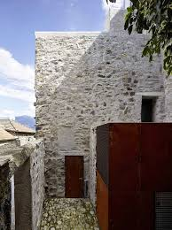 100 Modern Stone Walls Dream Houses Rough Metal Surfaces Combined With The