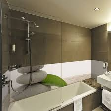 apparence décoration salle de bain galet