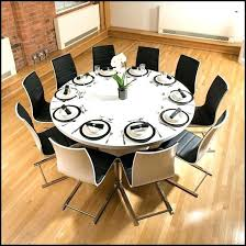 Extendable Dining Table Seats 10 Round Room Tables For Seat