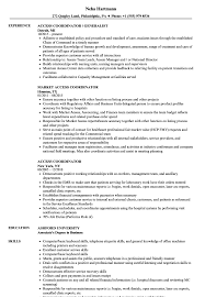 Download Access Coordinator Resume Sample As Image File