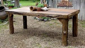 The Most Rustic Outdoor Dining Table Remodelaholic How To Build A Guest 19 Within Ideas
