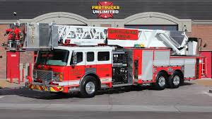 100 Fire Trucks Unlimited 2003 ALF Platform Refurbishment Montclair Department Trucks