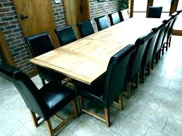 Large Dining Room Table Seats 12 Tables