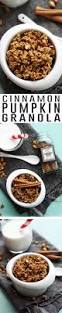 Pumpkin Flaxseed Granola Nutrition by Best 25 Pumpkin Granola Ideas On Pinterest Cooking Pumpkin