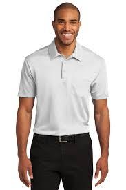 port authority golf shirt k540p mens silk touch performance pocket