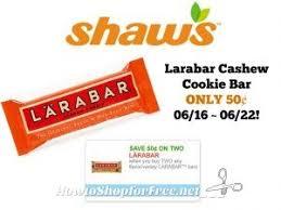 Larabar Cashew Cookie Bar ONLY 50c At Shaws 06 16 22