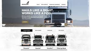 Mack Trucks Website - Case Study | VSA Partners