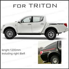 Free Shipping 2 PC Body Rear Side Graphic Vinyl For Side Sticker ... Test Drive Mitsubishi L200 Single Cab Pickup The Business Offers Malaysias First With A Sunroof Cfao Rolls Out Wgeneration Mitsubishi Pickup Raider Wikipedia Is Reentering The Usas Pickup Truck Battlefront Cumbuco Car Rental Nissan To Share Pickup Platform Exec Mitsubishi Akan Buat Baru Di Amerika Gets Freaky With Grhev Concept 2016 Truck Arrives In Geneva 5 Soulsteer Trojan Review Driving Torque