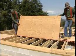 How To Lay A Plywood Subfloor Frame Floor Sheathing Install The