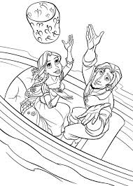 Rapunzel Printable Images Tangled Party Decorations Free Princess Colouring Pages Kids Barbie Printables