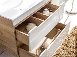 badmöbel set 5 tlg badezimmerset fermo weiss hgl inkl waschtisch 80cm