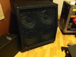 Mesa Boogie Cabinet Speakers by Mesa Boogie Diesel 4x12 Cabinet Black Reverb
