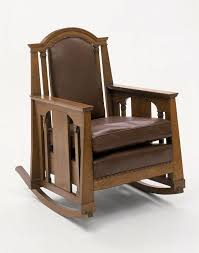 Oak Rocking Chair, 1912   Stickley, Roycrofters, Greene & Greene Stickley Chair Used Fniture For Sale 52 Tips Limbert Mission Oak Taboret Table Arts Crafts Roycroft Original Arts And Crafts Mission Rocker Added To Top Ssr Rocker W901 Joenevo Antique Rocking Chair W100 Living Room Page 4 Ontariaeu By 1910s Vintage Original Grove Park Inn Rockers For Chairs The Roycrofters Little Journeys Magazine Pedestal Collection Fniture