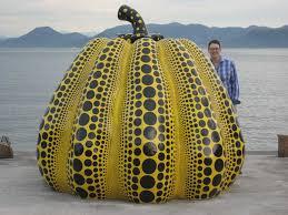 Yayoi Kusama Pumpkin Sculpture by News Archives Holly A Senn