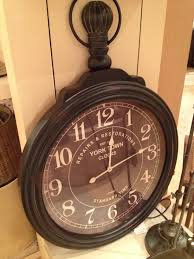 Enchanting Pottery Barn Wall Clock 126 Pottery Barn Union Station ... Pottery Barn Large Wall Clocks Ashleys Nest Potterybarn Inspired Clock Black Railway Regulator Ebth Union Station Au Rustic Pendant 16 Best Giant Images On Pinterest Wall Clock Just Photocopy 4 Diff Faces And Put Them Under A Glass Plate Oversized John Robinson House Decor Mount Digital Timer