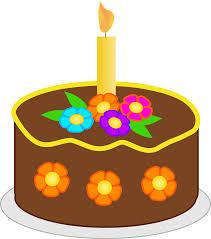 Chocolate Birthday Cake brown