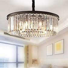 Meelighting Crystal Chandeliers Modern Contemporary Ceiling Lights Fixtures Pendant Lighting Dining Room Living Chandelier D21