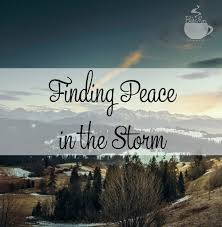 Finding Peace In The Storm TheBusyMom