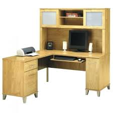 desk bush cabot corner computer desk with hutch in espresso oak