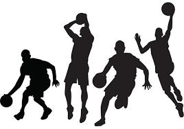 Free Basketball Players Vectors