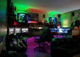 bureau pour gamer le des geeks et des gamers