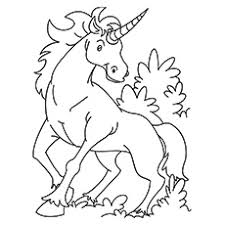 Kirin Unicorn Printable Coloring Sheets