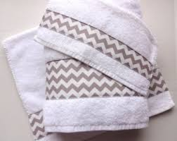 Gray Chevron Bathroom Decor by Chevron Towels You Pick Color Chevron Towels Bathroom