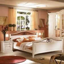 doppelbett mariana in weiß landhaus id8321