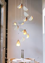 fliegen gefaltet papier metall origami anhänger le kunst