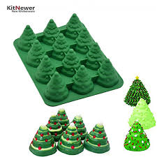 Xmas DIY 3d Silicone Mold Many Patterns Christmas Tree Umbrella Box Gift Santa Claus Sleigh Giraffe