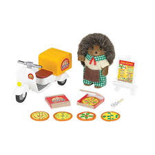 Calico Critters - Pizza Delivery Sylvian Families Baby High Chair 5221 Epoch Calico Critters Baby Tree House Accessory Set Doll Cheap Find Deals On Line At Red Roof Cozy Cottage Complete With Figure And Accsories Seaside Tasure Fence Main Door Flora Berry Get Ready For Bed Furbanks Squirrel Girl Bamboo Panda Pizza Delivery Luxury Townhome Deluxe Nursery Cf1554 Sophies Love N Care