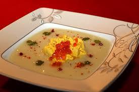 potage de chou fleur et chantilly au curry la cuisine de jackie
