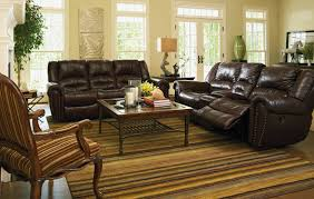 Bobs Furniture Living Room Sets by Flexsteel Crosstown Reclining Leather Sofa Furniture Market