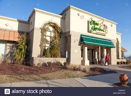 A typical Olive Garden Restaurant Baltimore County Maryland